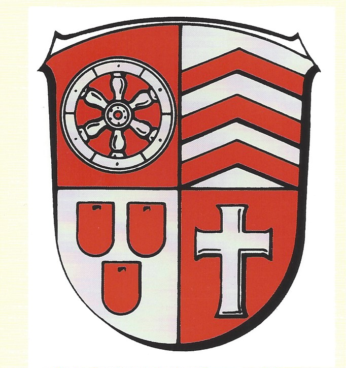 Das Wappen der Gemeinde Hainburg. Repro: beko